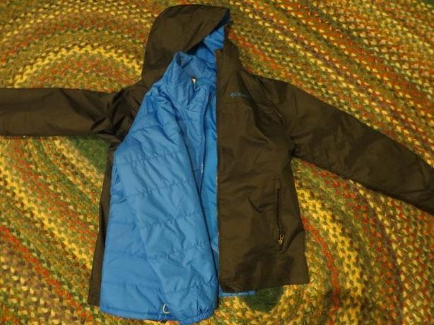boys columbia 'interchange' jacket size m 10/12