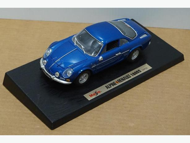 """Renault Alpine 1600S 1971"" Die-Cast 1:18 Scale Model by Maisto – Good Condition"