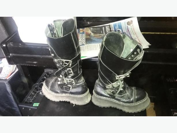 Demonia Platform Boots