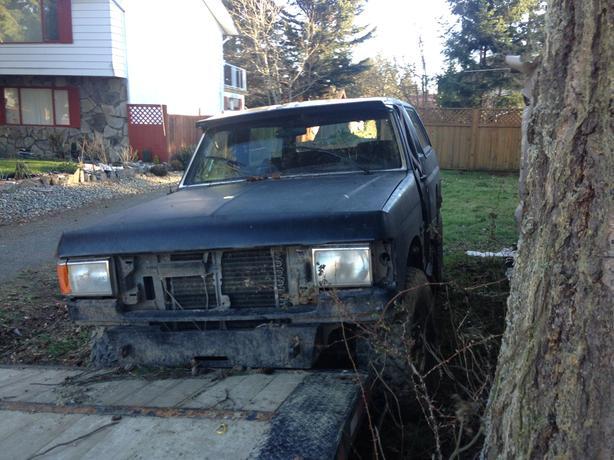 88 bronco bush truck