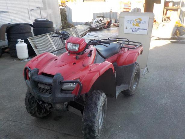 2013 Honda Foreman TRX500FM 4X4 ATV