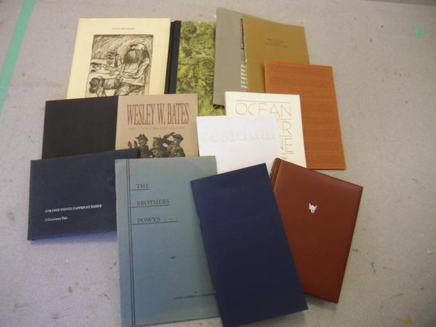 Ltd Ed, Private Press, LetterPress , Hand Bound Artist's Books
