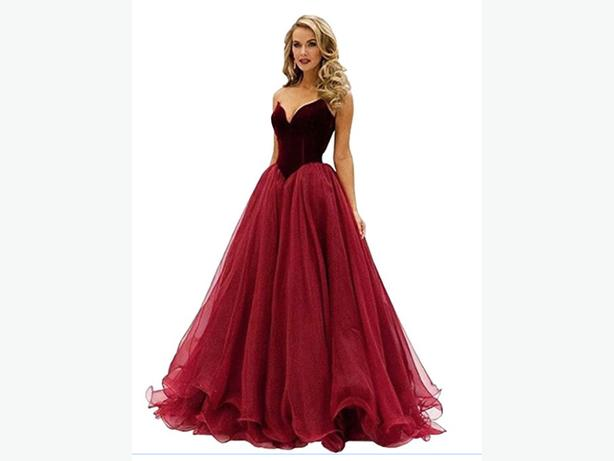 Grad or ball gown