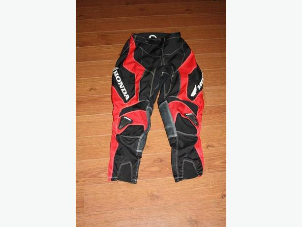 Honda Motocross Pants and Jersey