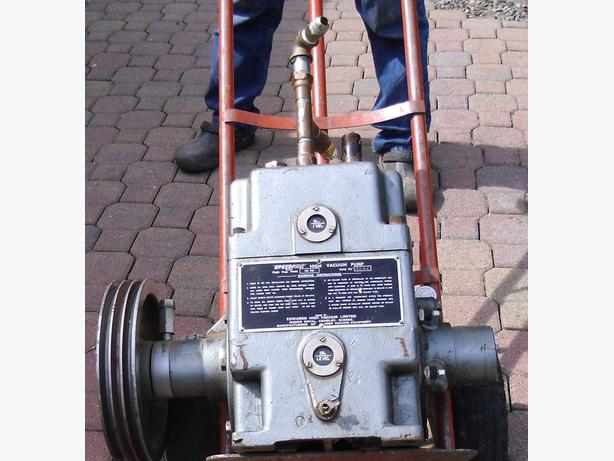 """SpeedVac"" High Vacuum Pump Single Stage Model  ISC900"