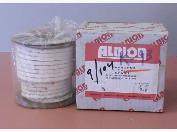 """Thermopack 161 Teflon Crosslock Non-Asbestos Packing  ¼"""""""