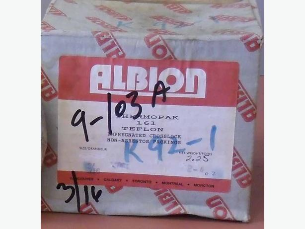 Thermopack 161 Teflon  Crosslock Non-Asbestos Packing  3/16""