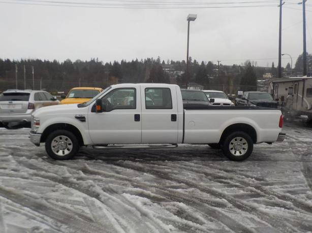2008 ford f 350 sd xlt crew cab long bed 2wd outside metro vancouver vancouver mobile. Black Bedroom Furniture Sets. Home Design Ideas