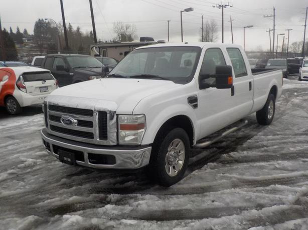 2008 Ford F-350 SD XLT Crew Cab Long Bed 2WD