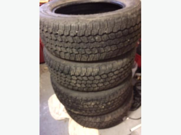 4 Goodyear Wrangler All-Terrain Tires