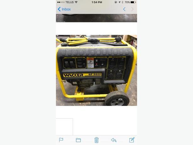 Wacker GP5600 generator