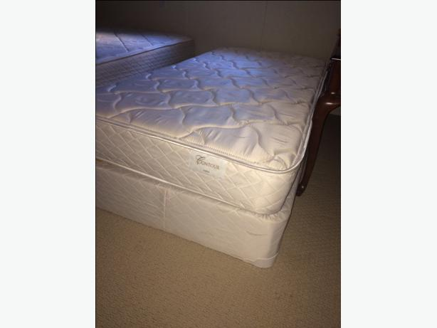 One Twin Mattress And Box Springs Victoria City Victoria