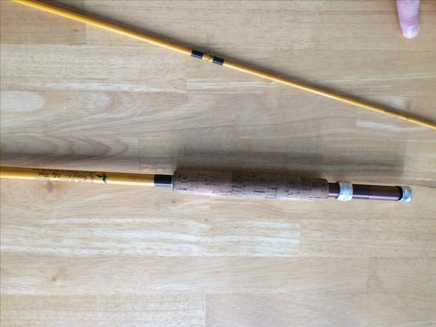 Vintage 8' 7wt Eagle Claw glass fly rod