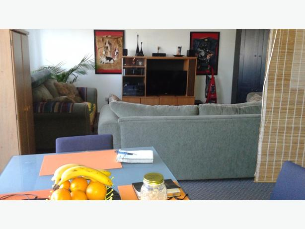 SHARE MY FULLY FURNISHED CONDO. BRIGHT.. CLEAN ..RIGHT DOWNTOWN DUNCAN
