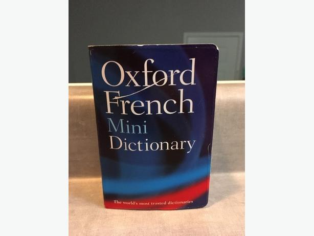 Oxford French Mini Dictionary by