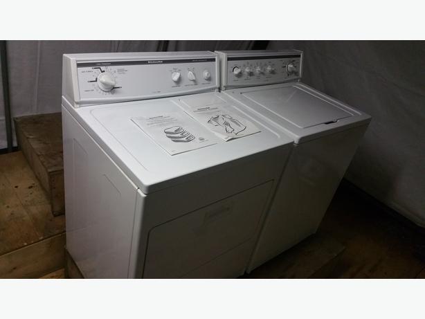 kitchenaid direct drive washer dryer set saanich victoria