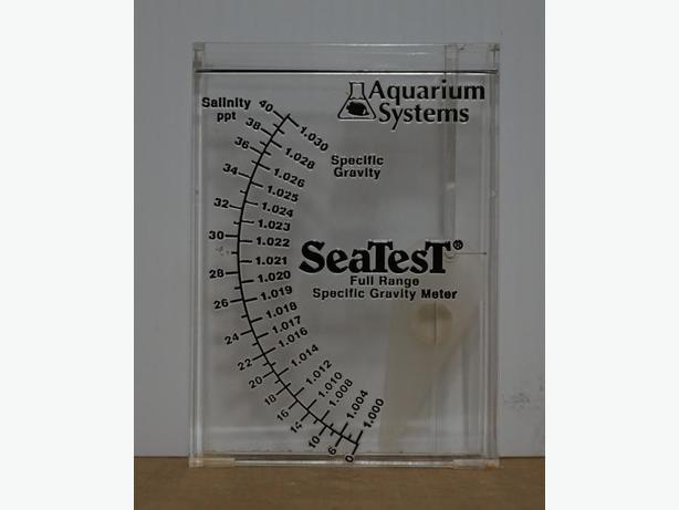 """""""SeaTest"""" Aquarium Specific Gravity/Salinity Meter by Aquarium Systems"""