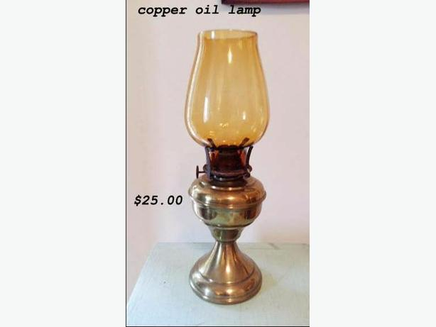 Lovely Oil Lamp Copper,