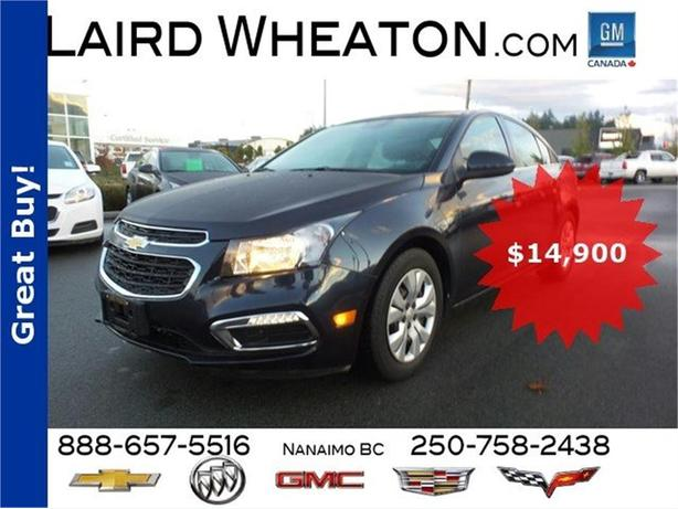 2015 Chevrolet Cruze LT w/ WiFi Hotspot and Back-Up Camera