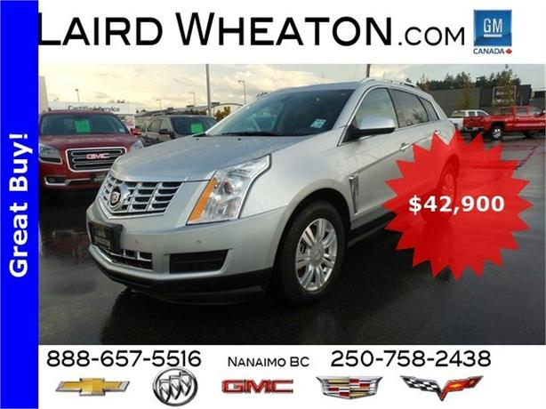 2015 Cadillac SRX AWD Luxury w/ Power Roof 4G WiFi Hotspot and Camera