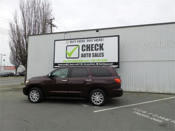 2013 Toyota Sequoia Plantium 4WD