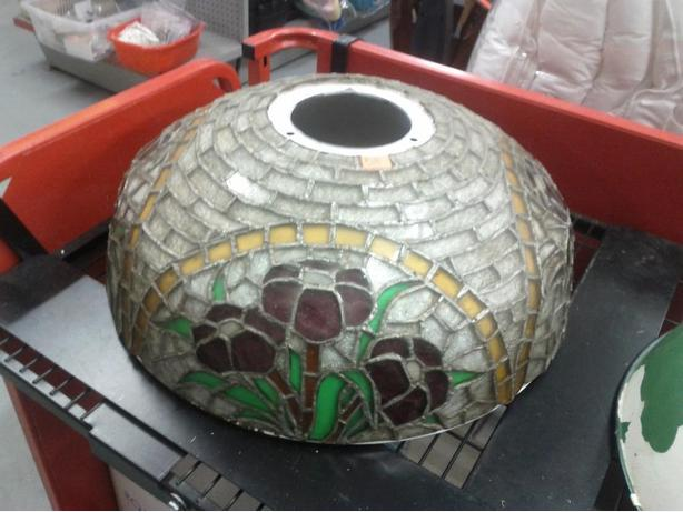 Older Stain Glass Shade