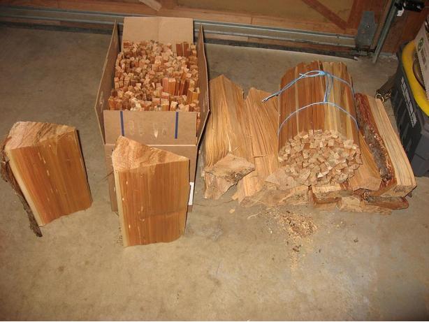 * BONE Dry Cedar Kindling *
