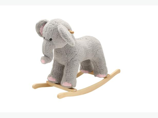 "Brand New 28"" Rocking Elephant Plays a Song"