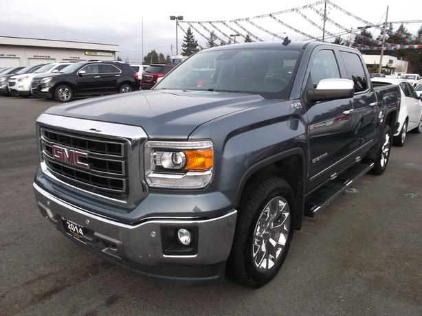 2014 GMC SIERRA CREW CAB SLT PREMIUM 4X4 FOR SALE
