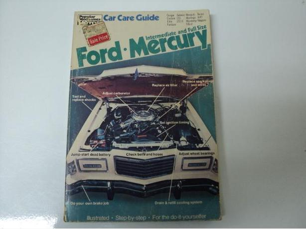 Ford Mercury Manuals (Pop Mechanics, Chilton's) $5 Each