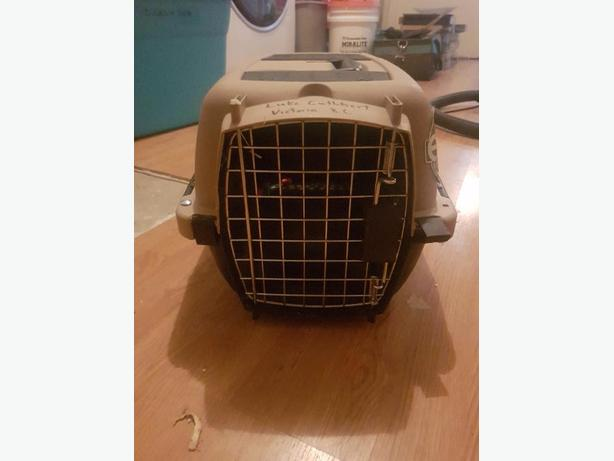 small cat or puppy crate