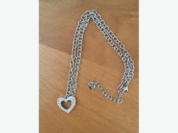 Real Swarovski Heart Necklace
