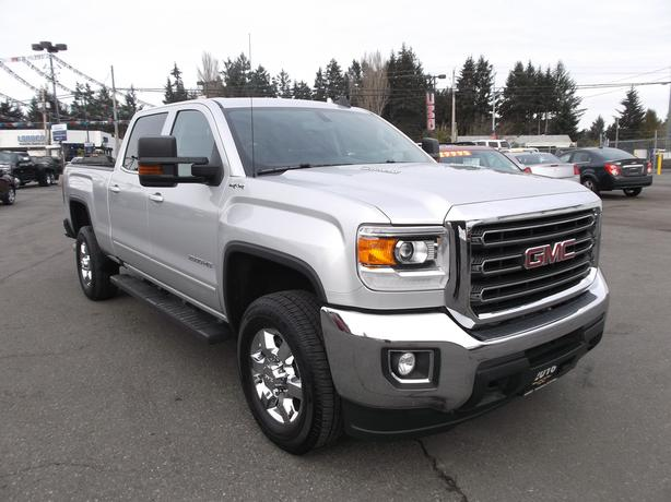 2016 GMC 2500 HD CREW CAB 4X4 DIESEL FOR SALE
