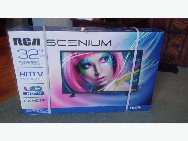 "32"" RCA TV - New in box"