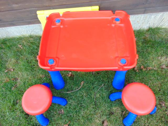 Childrens Table And Stool Art Center Crayola Measures 26 X