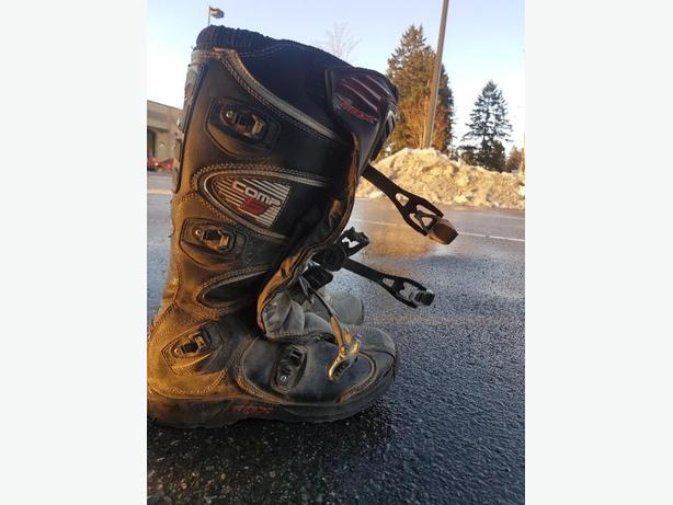 Fox comp 5 riding boots men's size 10