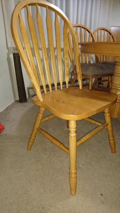 Dining Room Table W 6 Chairs Saanich Victoria