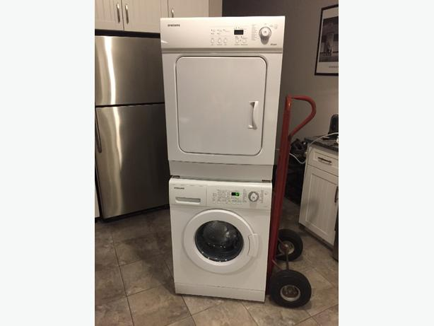matching samsung washer and dryer 24 inches wide for tight spots