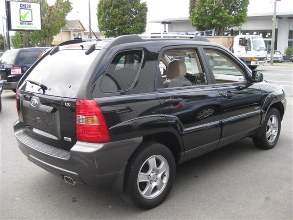 2006 kia sportage lx v6 4wd outside nanaimo nanaimo mobile. Black Bedroom Furniture Sets. Home Design Ideas