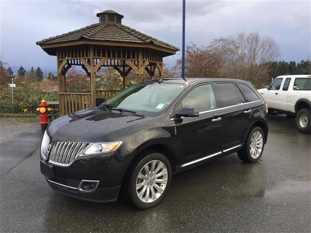 2013 Lincoln MKX AWD 4dr - Black with Coveted Tan Interior