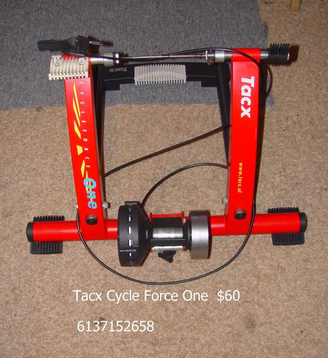 Tacx Trainer $ 60 Works Great New Skewer Inc 6137152658