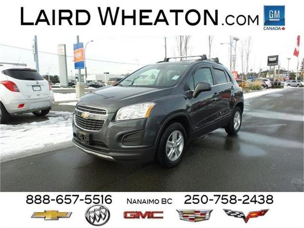 2016 Chevrolet Trax LT AWD w/ Sunroof and 4G WiFi Hotspot