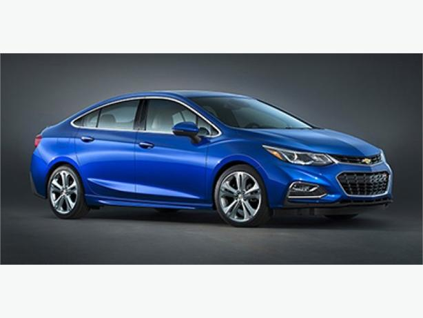 2016 Chevrolet Cruze LT w/ Technology Package and Sunroof