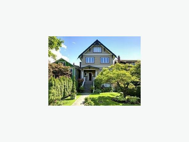 Lovely Furnished Kitsilano Ground Level Suite in Restored Heritage House #446