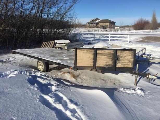 sled trailer 3 place 18 39 6 rural regina regina. Black Bedroom Furniture Sets. Home Design Ideas