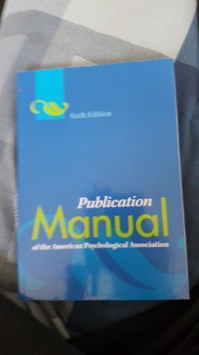 apa publication manual 6th edition pdf