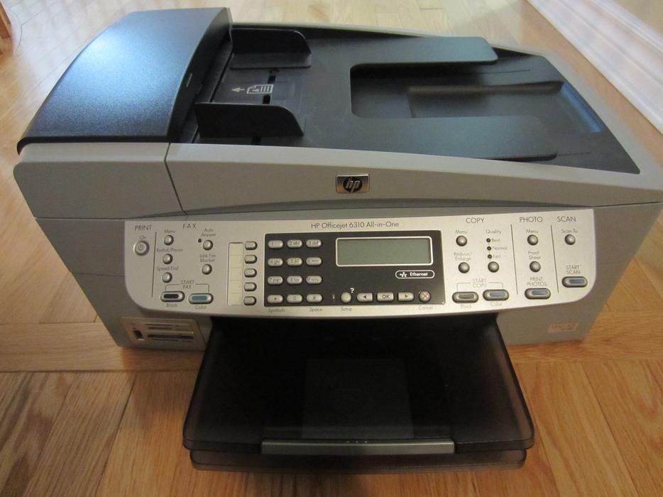 hp officejet 6310 all in one printer orleans ottawa. Black Bedroom Furniture Sets. Home Design Ideas