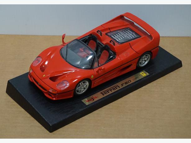 """Ferrari F50 1995"" Die-Cast 1:18 Scale Model by Maisto – Good Condition"