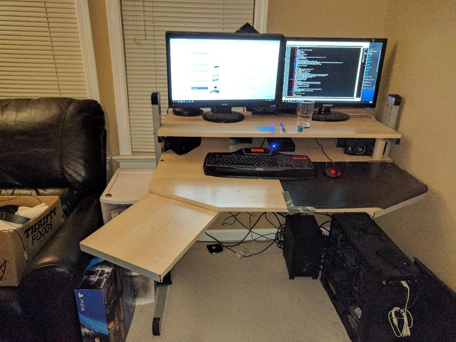 Ikea Jerker Modular Computer Desk West Shore Langford