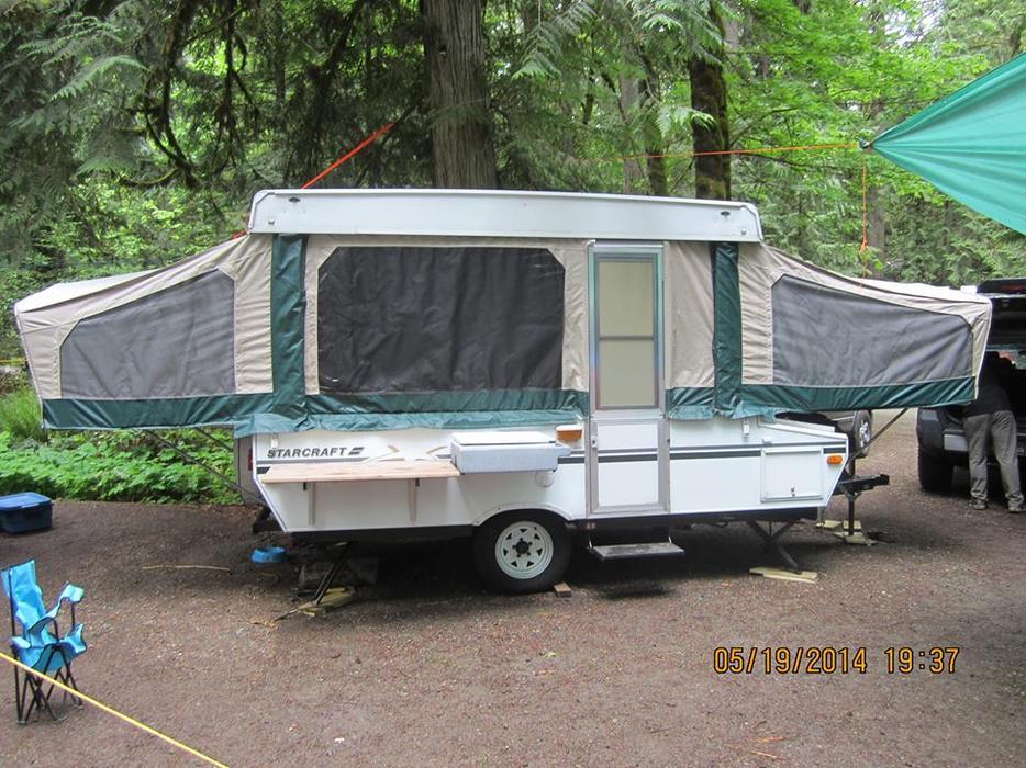 Tent Trailer Vancouver Island